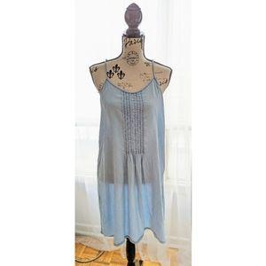 Tristan Denim Blue Sleeveless Dress